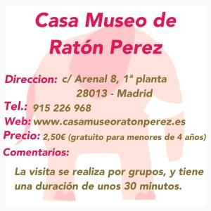 Ficha CASA MUSEO DEL RATON PEREZ