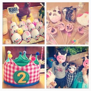 cumpleaños granja1